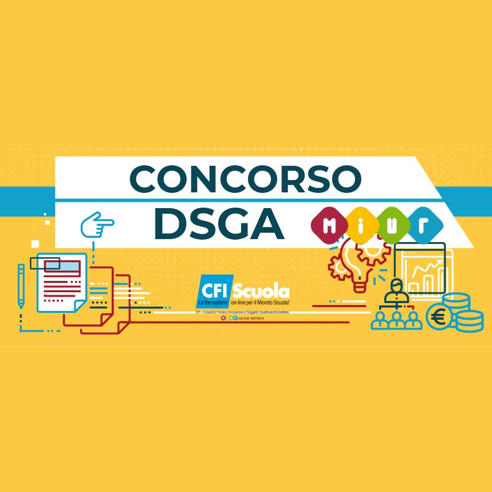 Concorso DSGA: batterie di test, dove e quando?