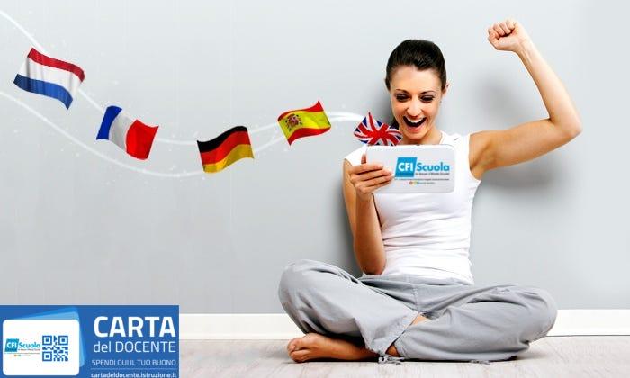Nuovi corsi di lingua on-line! Prova gratis il tuo livello