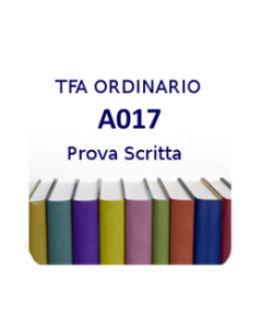 A017 - Prova scritta