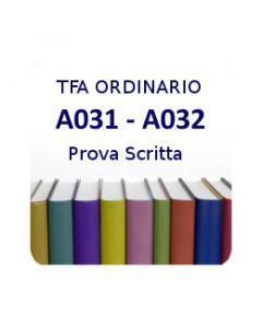 A031 - A032 - Prova scritta