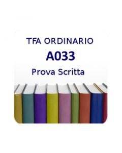 A033 - Prova scritta