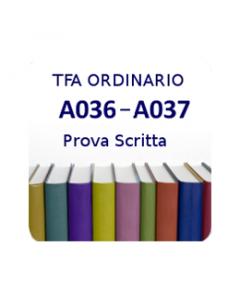 A036 - A037 - Prova scritta