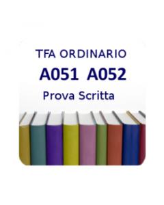 A051 - A052 - Prova scritta