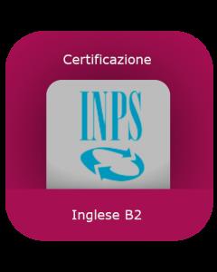 INPS: Certificazione inglese B2