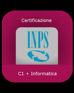 INPS: Certificazione inglese C1 + Informatica