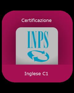 INPS: Certificazione inglese C1