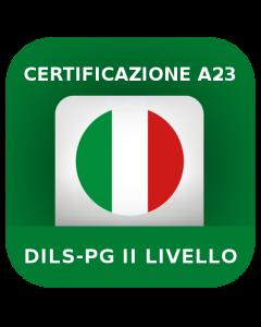 Certificazione glottodidattica per A23 - DILS-PG II livello
