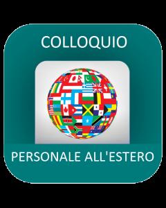 Personale all'estero - Corso online: Colloquio orale