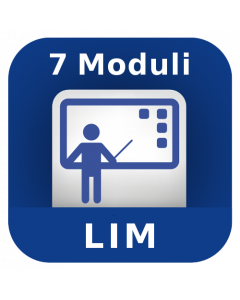7 Moduli User + Didattica con la LIM e sistemi integrati