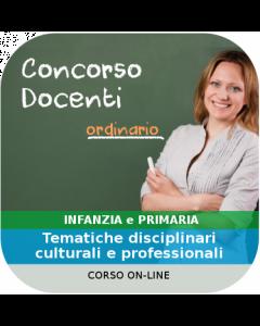 Concorso Docenti Infanzia e Primaria - Corso online Generale + Disciplinare