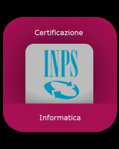 INPS: Certificazione informatica