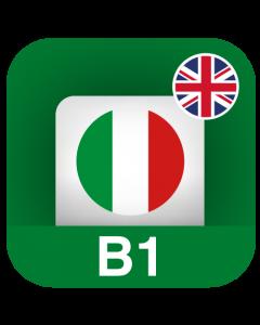 Italiano per stranieri B1 (Pre-Intermedio) - Inglese