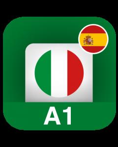 Italiano per stranieri A1 (Principiante) - Spagnolo