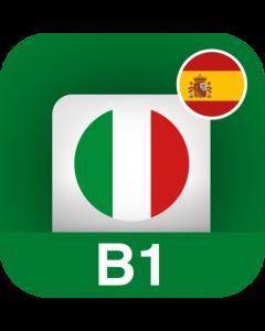 Italiano per stranieri B1 (Pre-intermedio) – Spagnolo