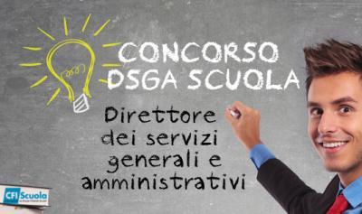 Uscita una bozza del decreto del concorso DSGA