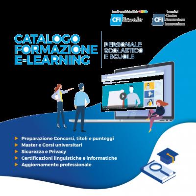 Scopri il nuovo catalogo CFIScuola! Nuovi corsi per l'a.s. 2019/20!