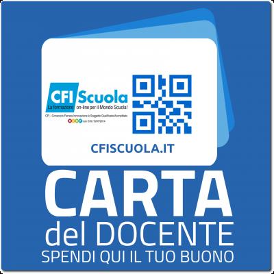 Hai il Buono Carta Docente? Ecco come acquistare su CFIScuola.it