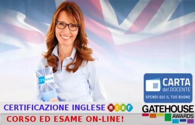 Certificazione inglese - Esami online!