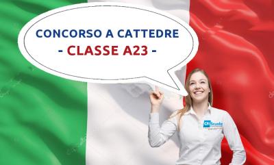 Certificazione L2 per classe A23, ora su Sofia!