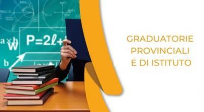 Graduatorie provinciali e di istituto: Ordinanza ministeriale e tabelle titoli