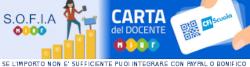 SOFIA - CARTA DOCENTE - MIUR